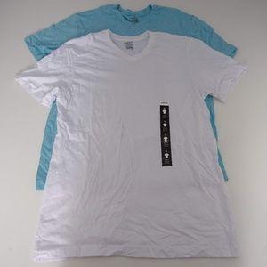 Alfani Men's Short Sleeve V-Neck Size S NWOT